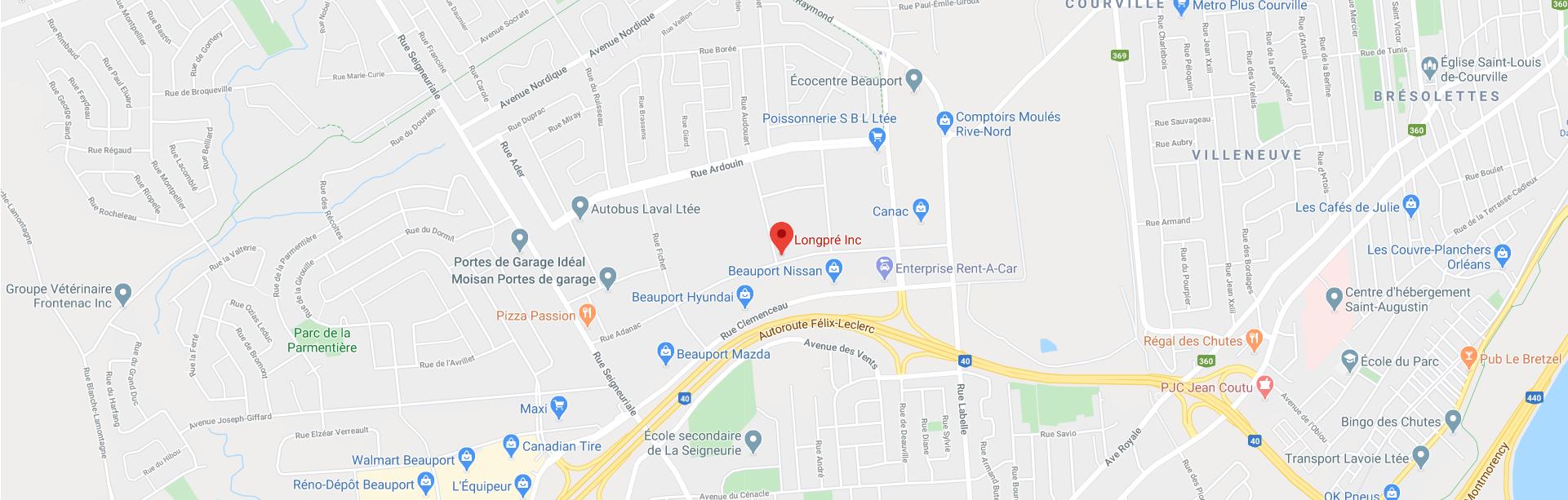 Ouvrir dans Google Maps